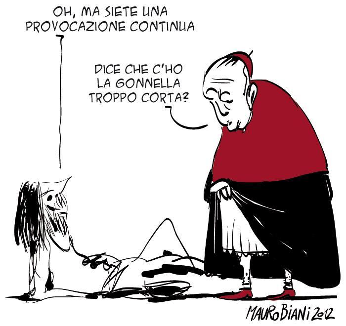 vaticano provocazioni