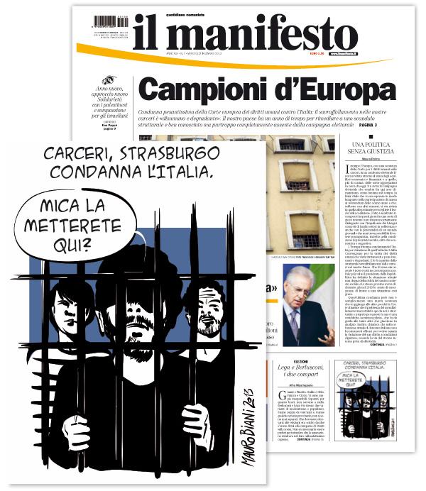 carcere-strasburgo-condanna-italia-il-manifesto-1