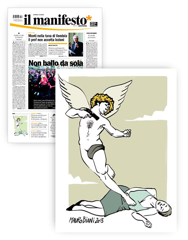 femminicidi-cupido-s-valentino-il-manifesto