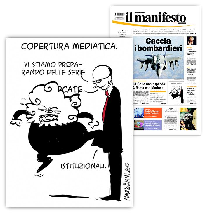 Grillo-letta-copertura-mediatica-il-manifesto