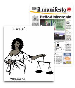 giustizia-e-donna-e-nera-il-manifesto