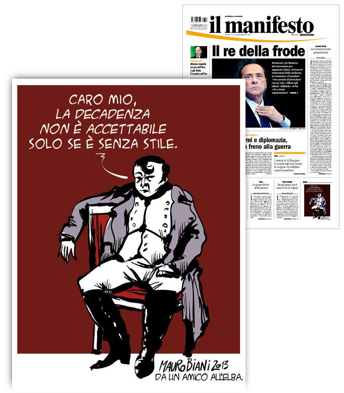 napoleone-e-berlusconi-il-manifesto