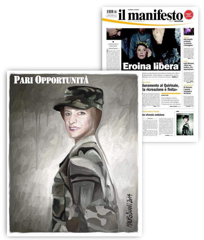 pinotti-difesa-pari-opportunita-il-manifesto