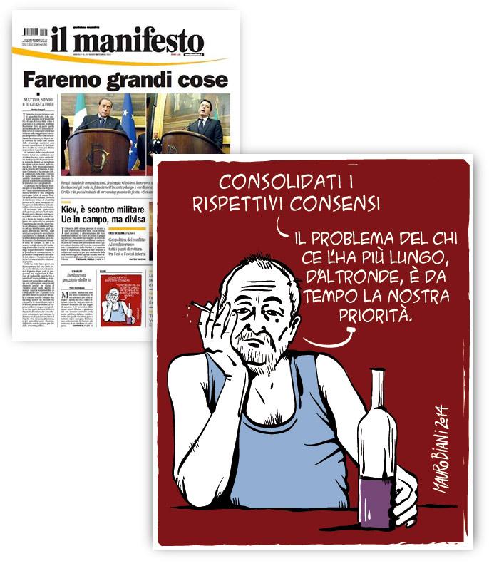 renzi-grillo-berlusca-consensi-lungo-new-il-manifesto
