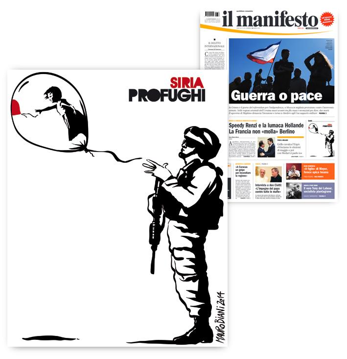 banksy-soldato-bambina-palloncino-guerra-siria-il-manifesto