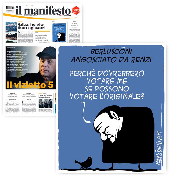 berlusca-renzi-angoscia-il-manifesto