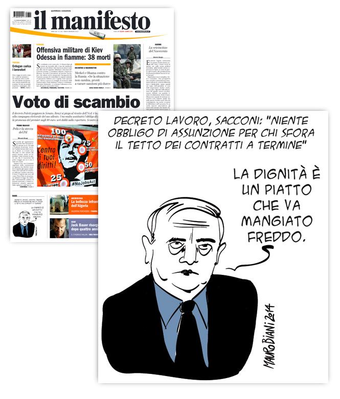 sacconi-decreto-lavoro-il-manifesto