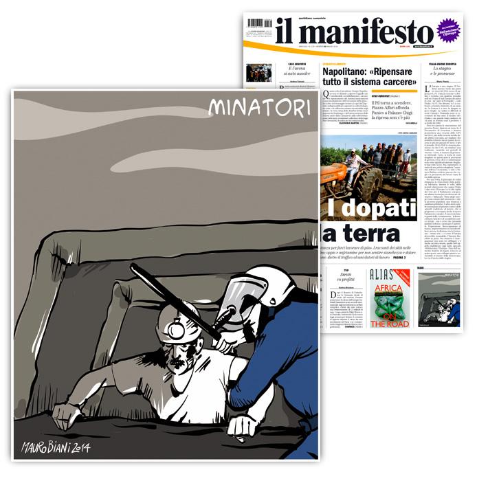 turchia-miniera-polizia-il-manifesto