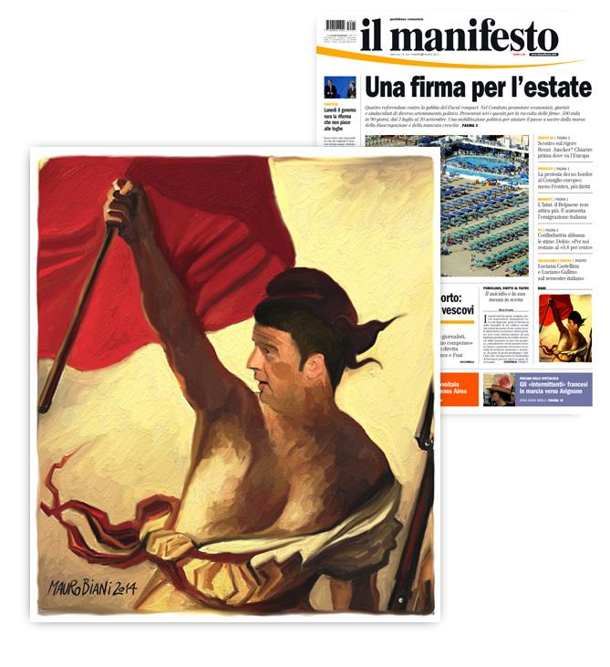 renzi-rossa-il-manifesto