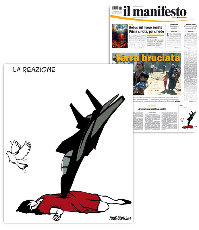 gaza-la-reazione-colomba-il-manifesto