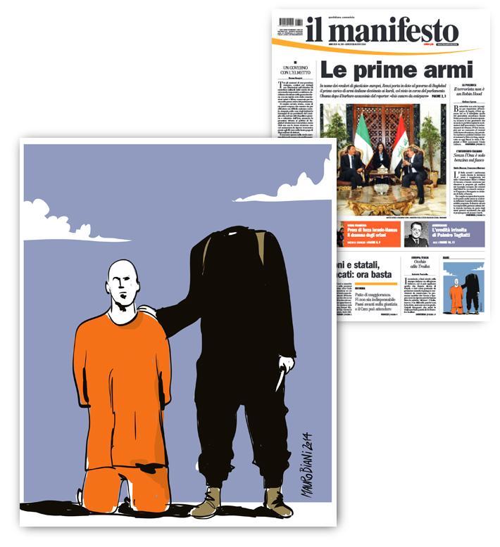 siria-isis-giornalista-decapitato-il-manifesto