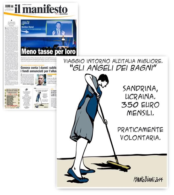 Angeli-sandrina-lavoro-migranti-il-manifesto