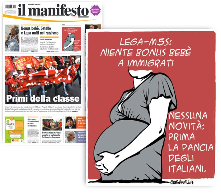 bonus-bebe-lega-m5s-il-manifesto