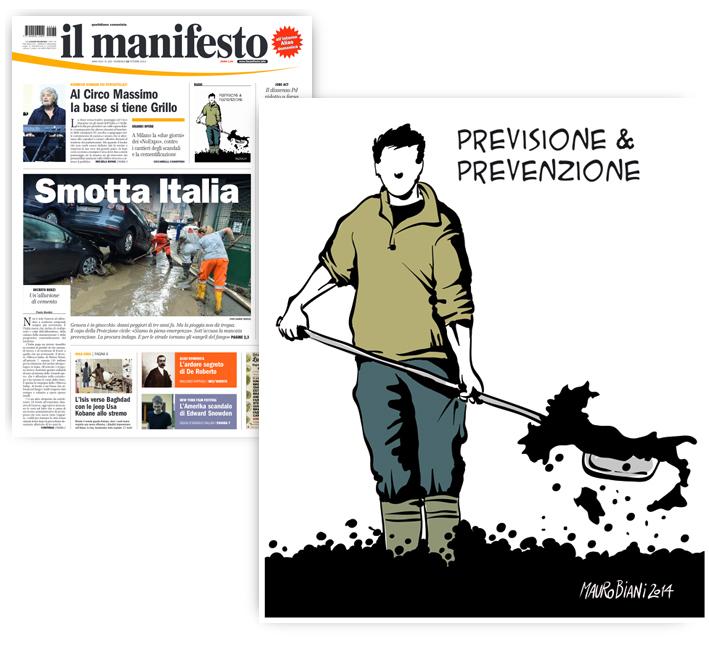 genova-fango-prevenzione-protezione-civile-il-manifesto