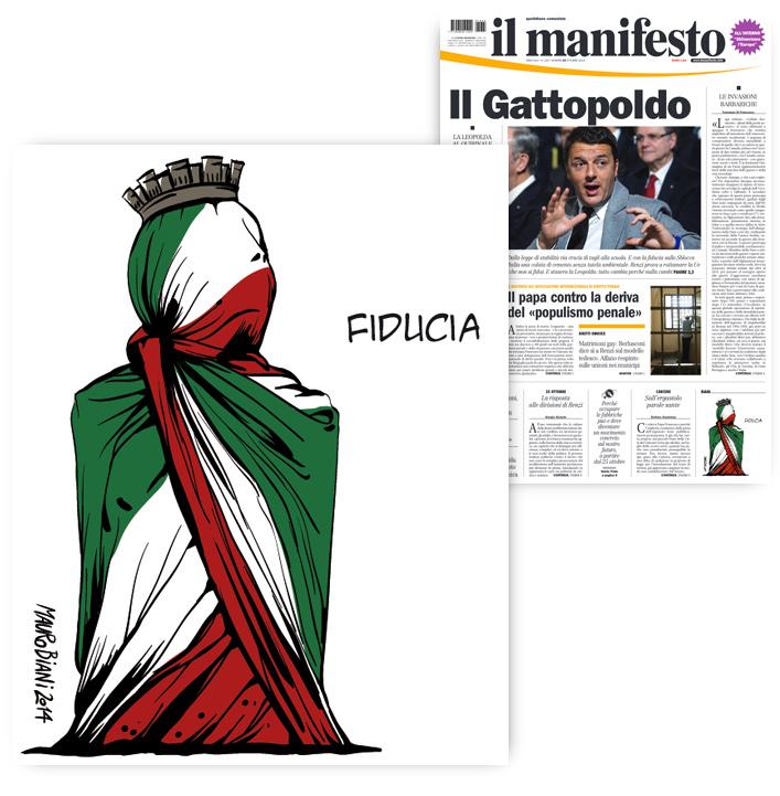 italia-fiducia-il-manifesto