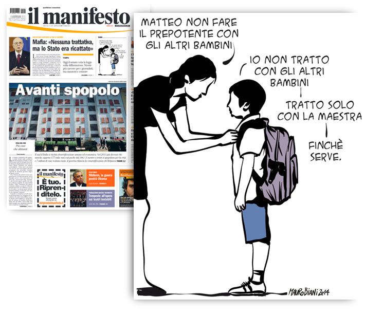 renzi-piccolo-matteo-il-manifesto