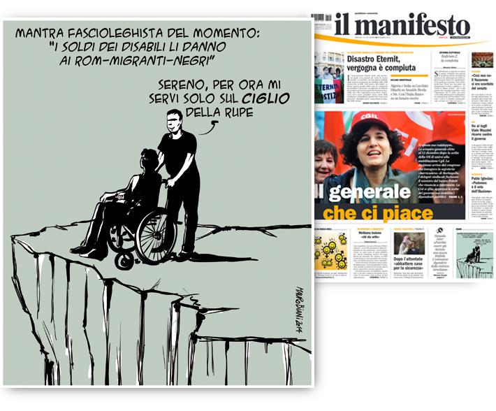 migranti-disabili-fasci-leghisti-il-manifesto