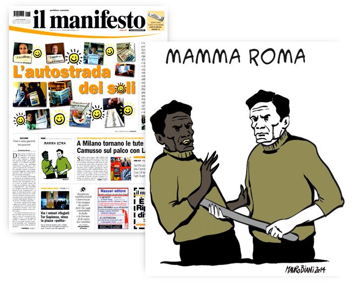 pasolini-roma-scontro-poveri-il-manifesto