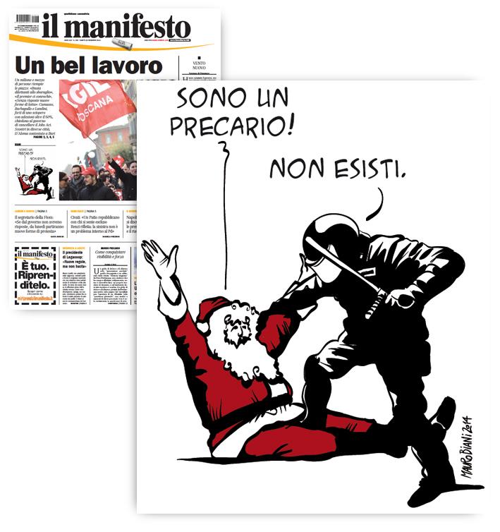 babbo-natale-sciopero-polizia-precario-il-manifesto