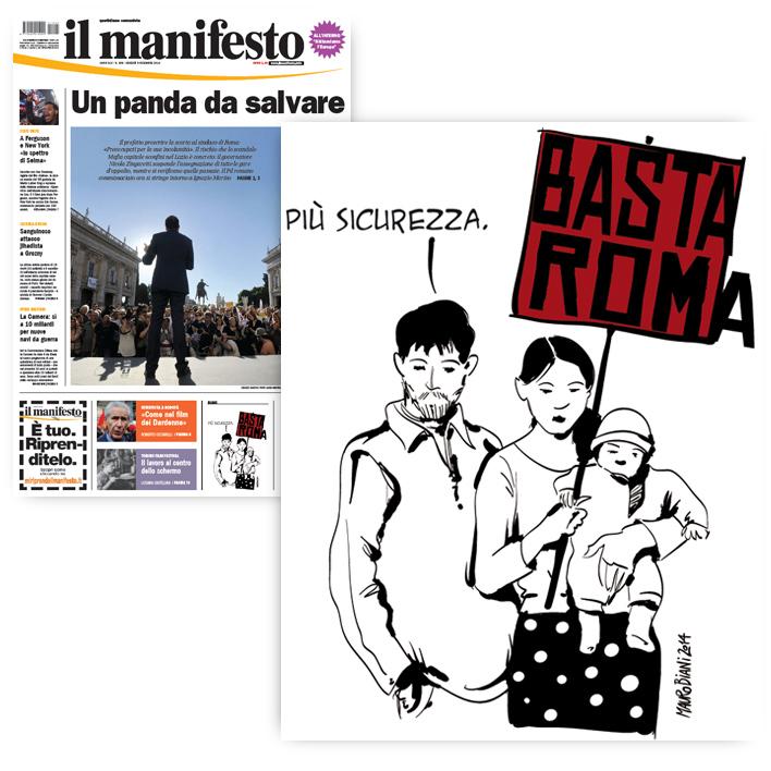 rom-basta-roma-il-manifesto