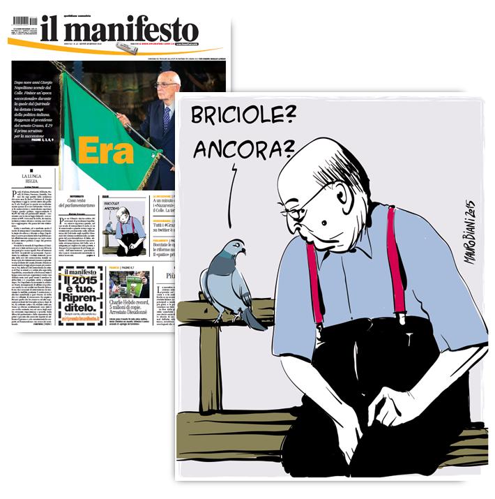 napolitano-piccione-il-manifesto