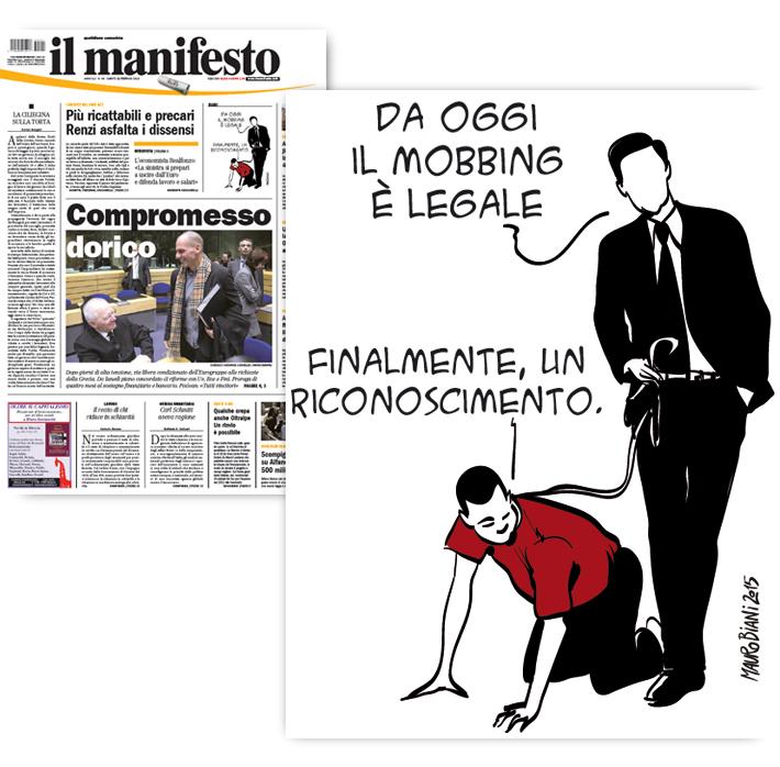 job-act-mobbing-lavoro-il-manifesto