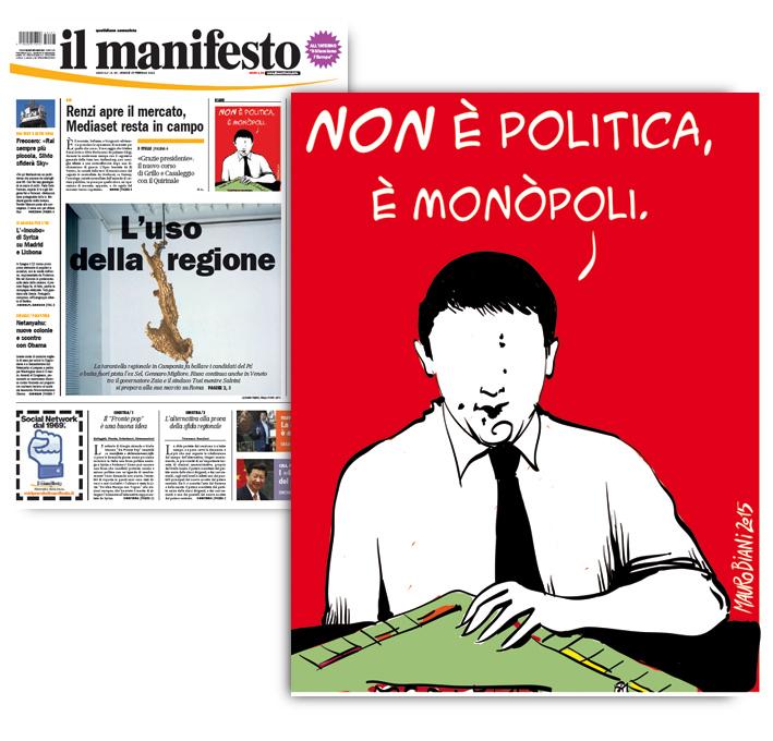 renzi-rai-politica-mediaset-il-manifesto