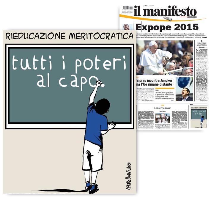 scuola-riforma-renzi-meritocrazia-il-manifesto
