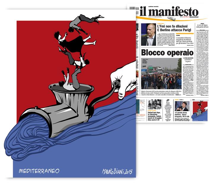 mediterraneo-migranti-tritacarne-il-manifesto