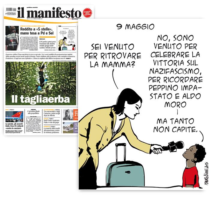 migrante-bimbo-trolley-europa-9-maggio-il-manifesto