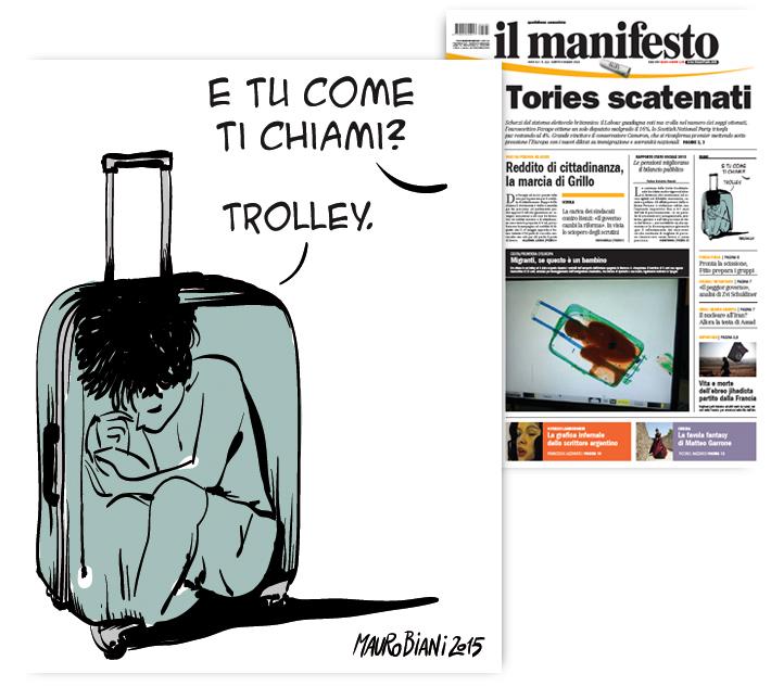 trolley-bimbo-migrante-il-manifesto