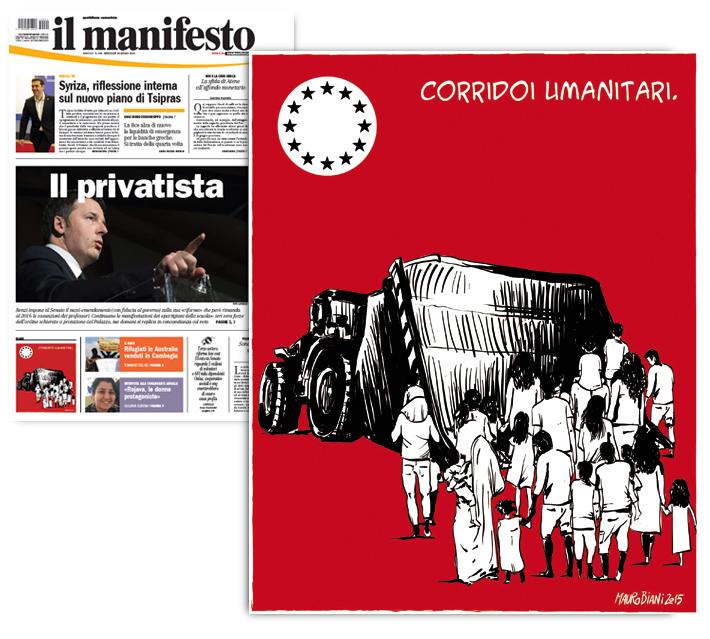 migranti-corridoi-umanitari-europa-il-manifesto
