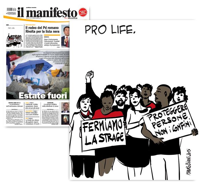 migranti-rifugiati-manifestazione-il-manifesto
