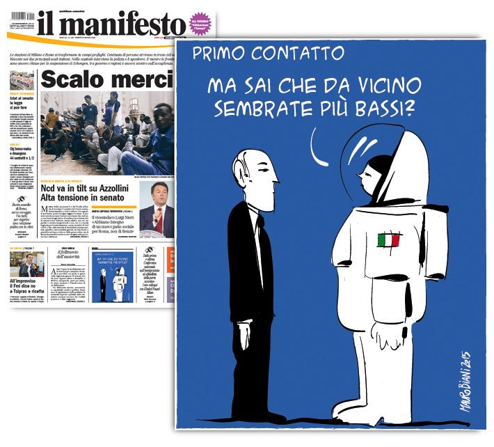 samanta-cristoforetti-ritorno-il-manifesto