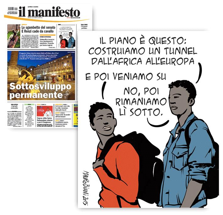 migranti-tunnel-il-manifesto