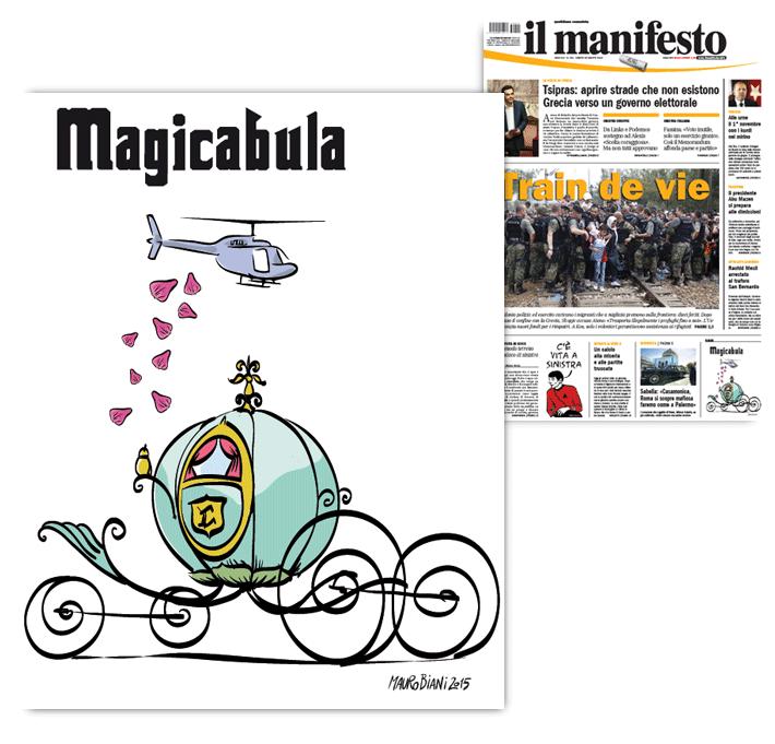mafia-cenerentola-roma-carrozza-il-manifesto