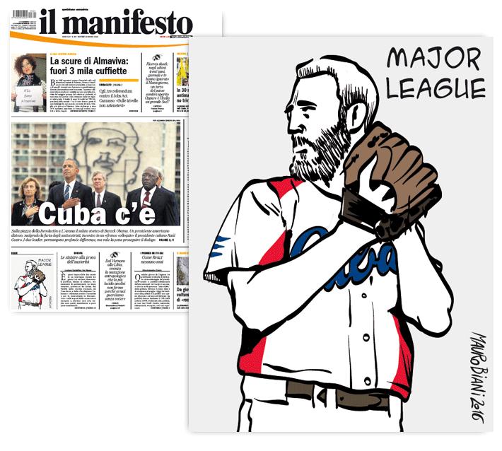fidel-cuba-usa-baseball-il-manifesto
