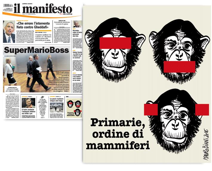 primarie-scimmia-il-manifesto
