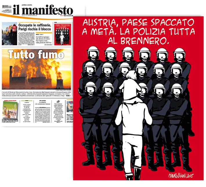 austria-migranti-brennero-il-manifesto