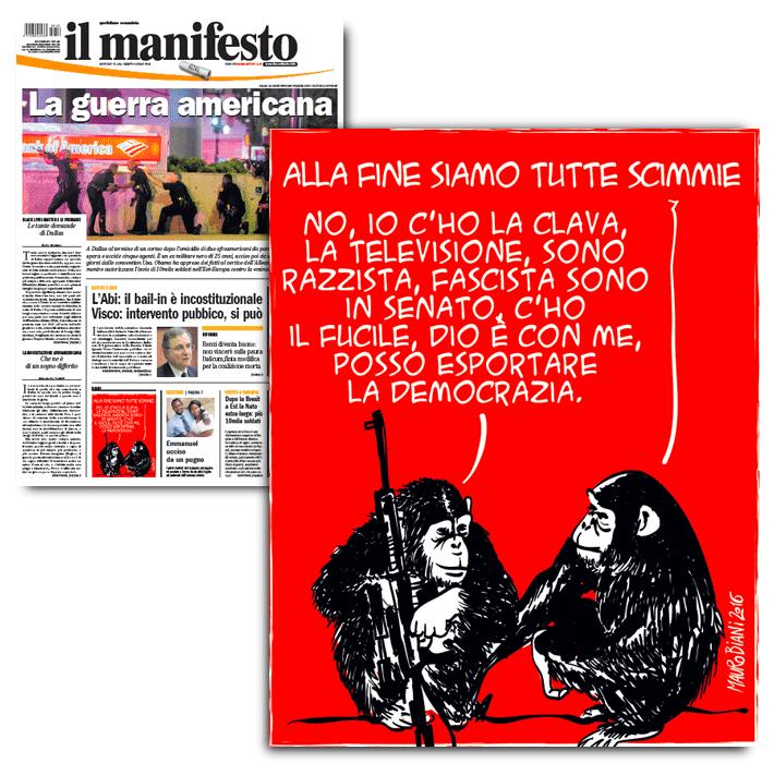 scimmie-il-manifesto