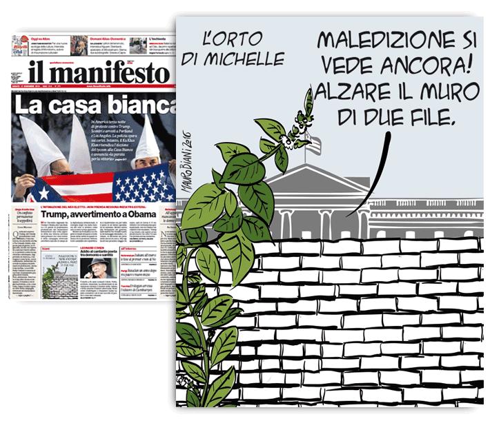 trump-michelle-orto-il-manifesto
