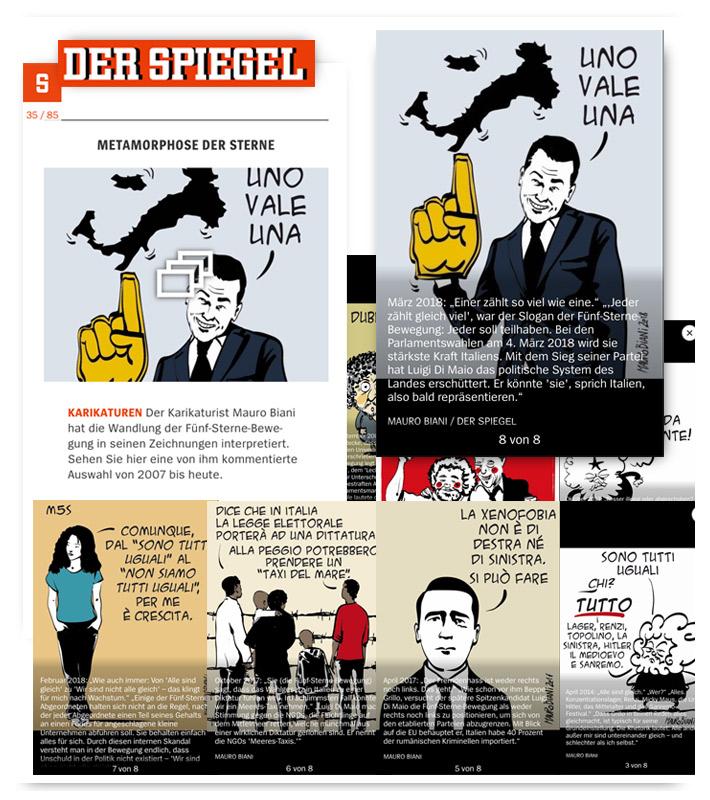 Di maio at mauro biani punto it for Spiegel reportage
